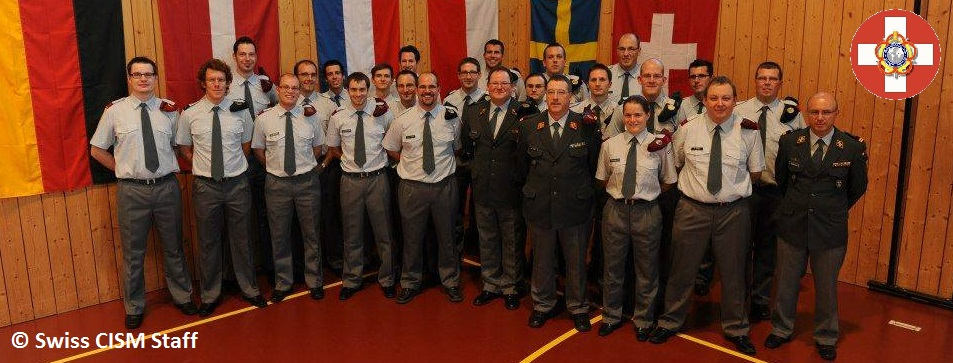 swiss cism staff